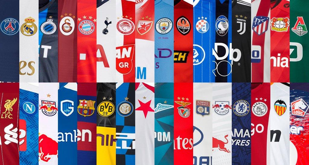 camisetas champions league 2019