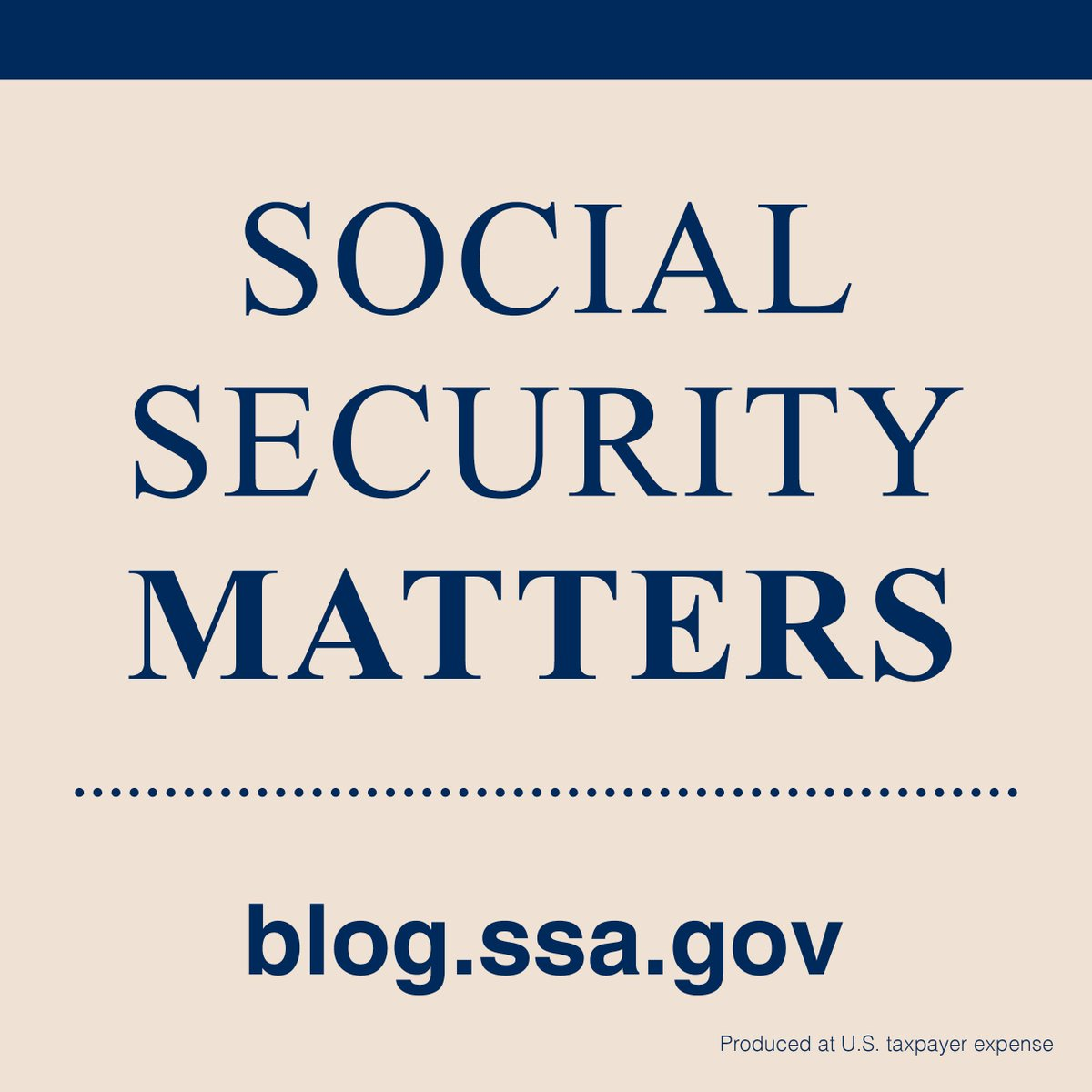 Social Security (@SocialSecurity)   Twitter