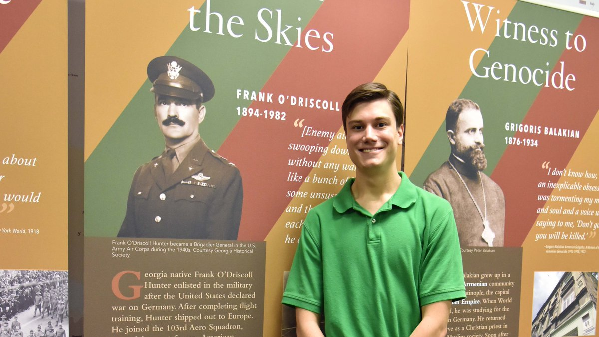 History Major James Friedrich - Kennesaw State University