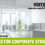 Image for the Tweet beginning: SENIOR DIRECTOR CORPORATE STRATEGY (w/m/x)