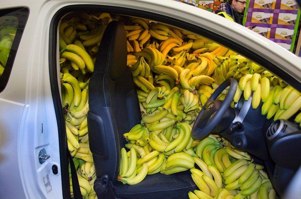Смешные картинки с бананом, открытки