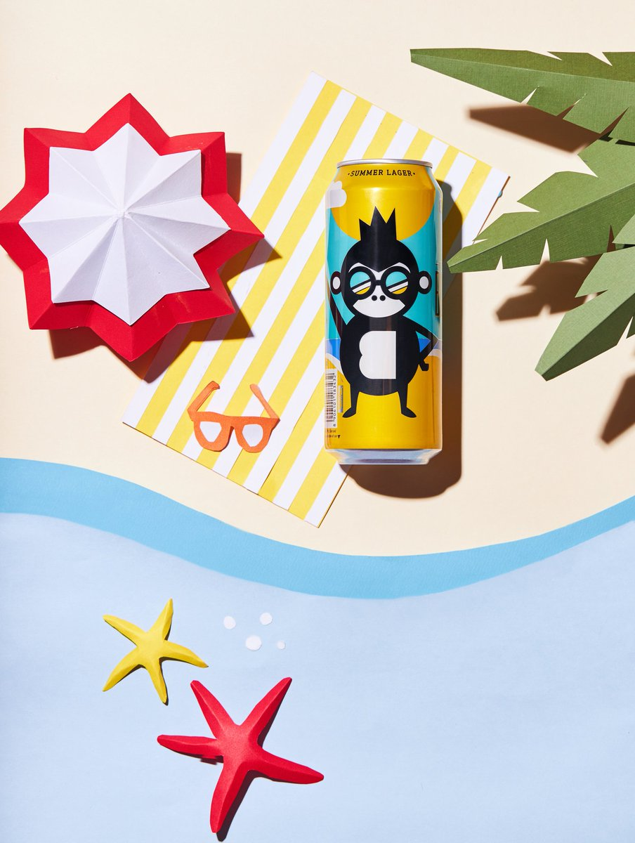 How to celebrate Summer -🍺Pack a can of #Bira91BlondeSummer🕶️ Throw some shade☀️Avoid the tan....#SummerServedCold #BlondeSummerLager #Bira91Beers #Bira91