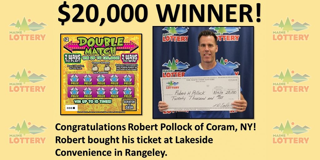 Maine Lottery (@THEMAINELOTTERY) | Twitter