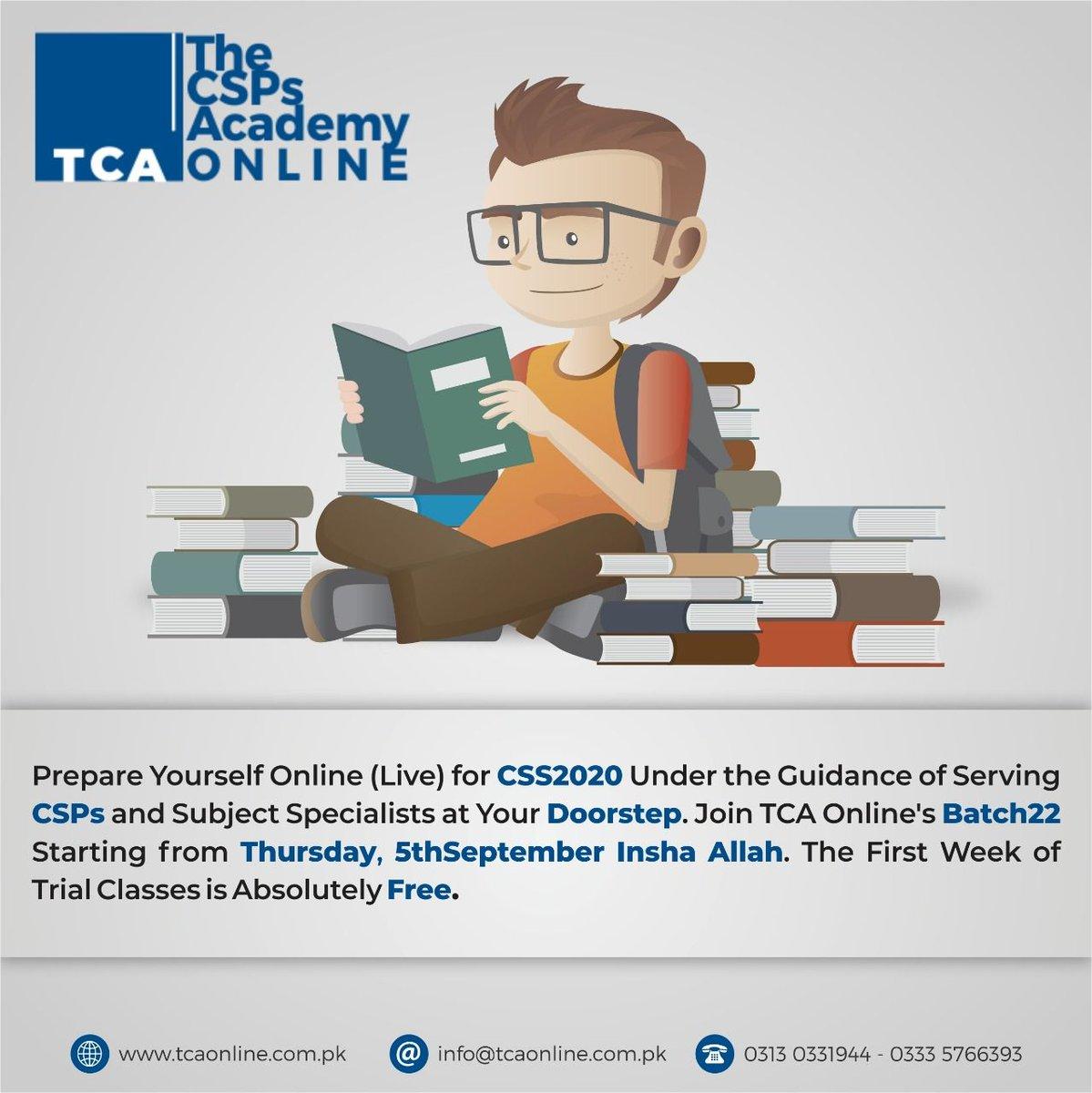 The CSPs Academy - Online (TCA Online) (@TheCSPsAcademy