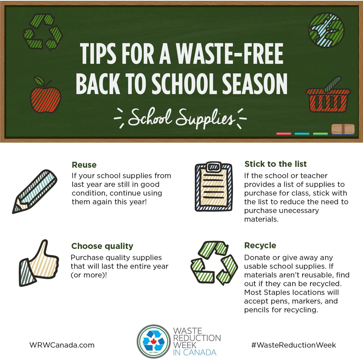 Waste Reduction Week (@WRWCanada)   Twitter