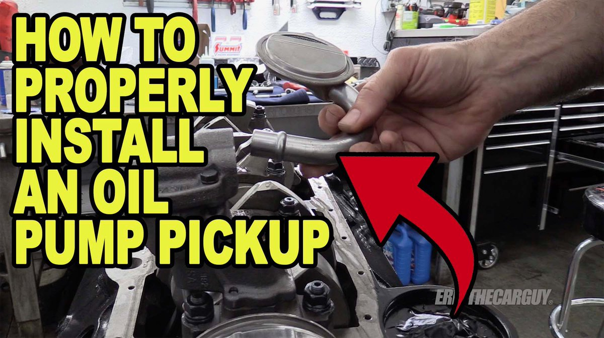 Here's another 'short' video I took from last weeks engine building video about installing oil pump pickups. @summitracing #etcgvideo #engine #enginebuilding #oilpump #tipsandtricks  https:// youtu.be/SJPGDqLdXfo    <br>http://pic.twitter.com/TcYENaai7u