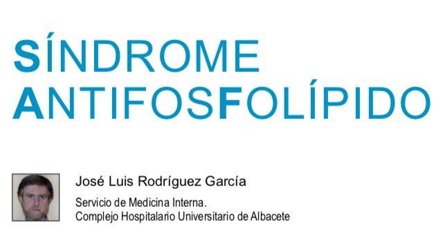 sindrome de anticuerpos antifosfolipidos pdf