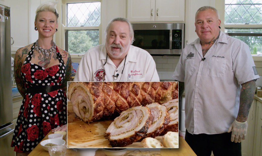 Meathead Bbq Whisperer Goldwyn On Twitter I Did 14 Videos For The Bbq Stars Masterclass Series Including This Incredible Pork Belly Porchetta With Greg Kristina Gaardbo From Chicago Culinary Kitchen Today