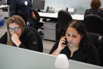 FPL Command Center photos - Preparing for Hurricane Dorian