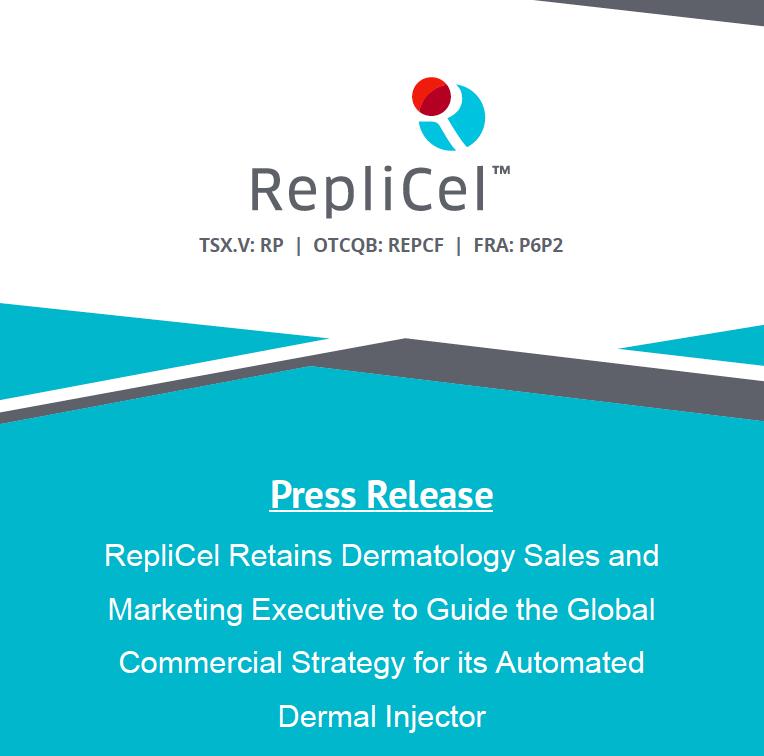 RepliCel Life Sciences Inc  (@RepliCel)   Twitter