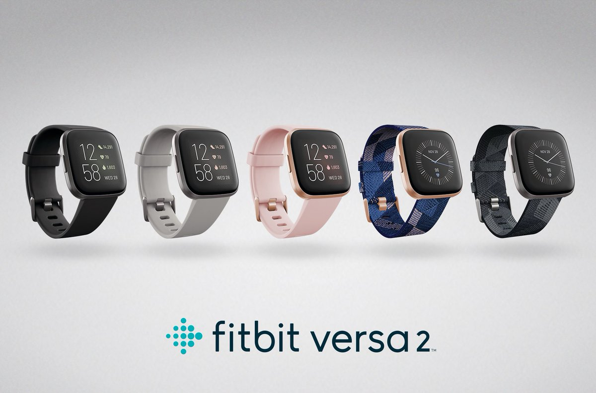 "Checkout the new @fitbit #Versa2 smartwatch! It's got some cool new features, like a brighter display, a snore detector (Dad), and voice replies so you have a friend to chat with on those long runs. ""Hey Fitbit, bring me a pizza!"" bit.ly/2HtZOpi #FitbitAmbassador"