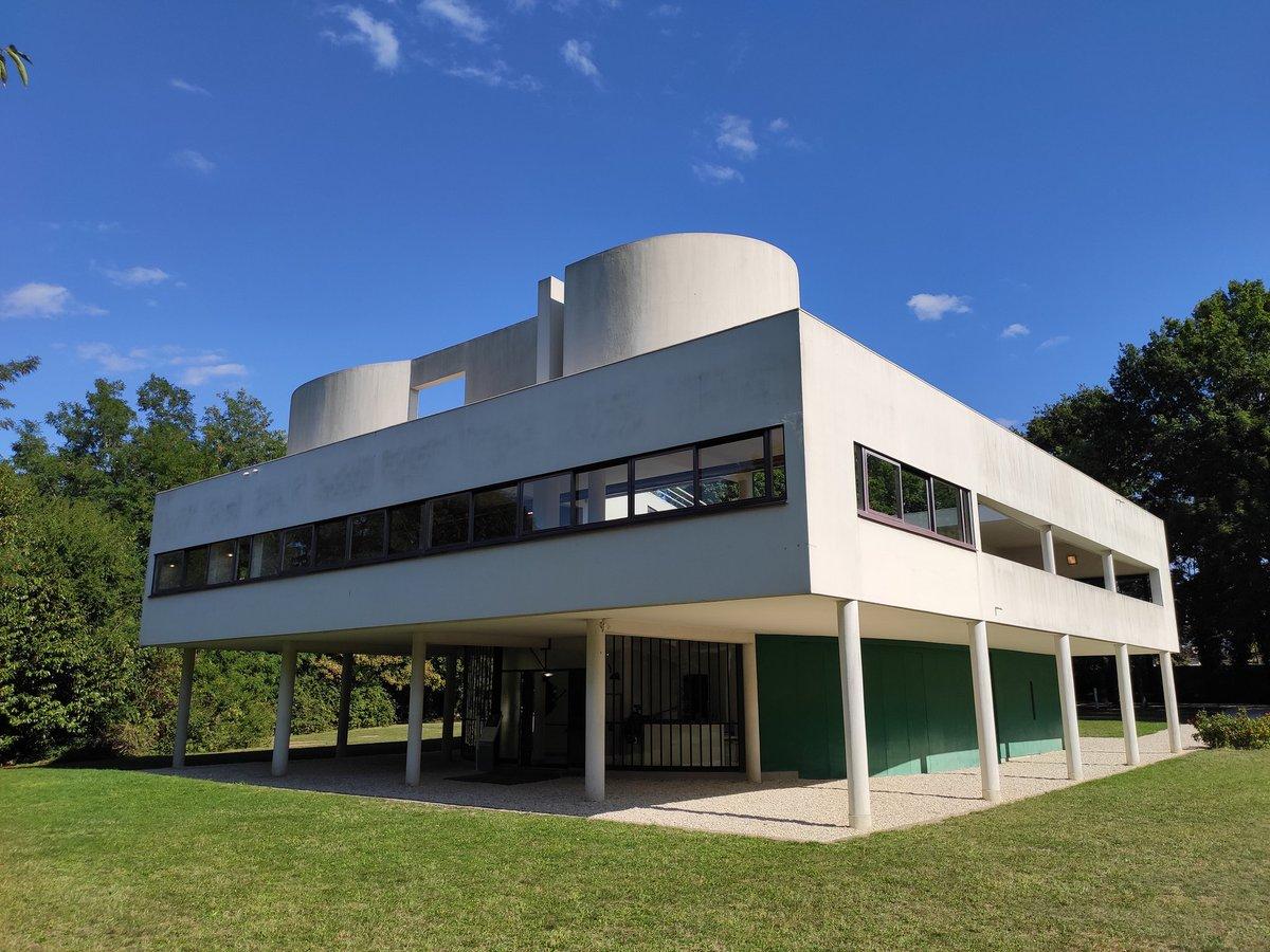 """Le Corbusier Les 5 Points ronan bretel en twitter: """"villa savoye - les 5 points de l"""