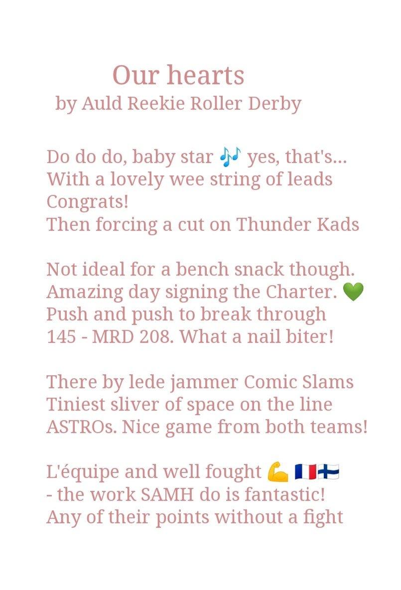 Auld Reekie Roller Derby (@AuldReekieRD) | Twitter