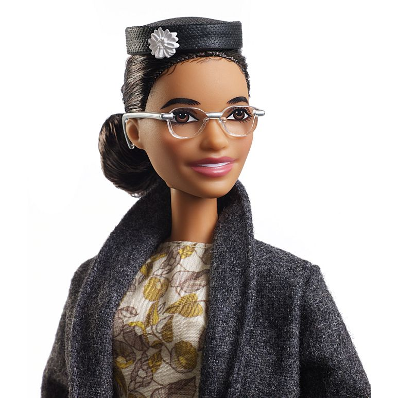 Barbie Inspiring Women Doll Rosa Parks Doll with Accessories Gift