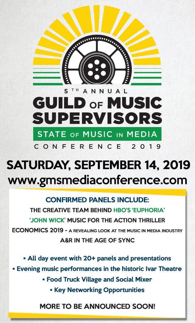 Guild Of Music Supervisors (@guildofmusic) | Twitter