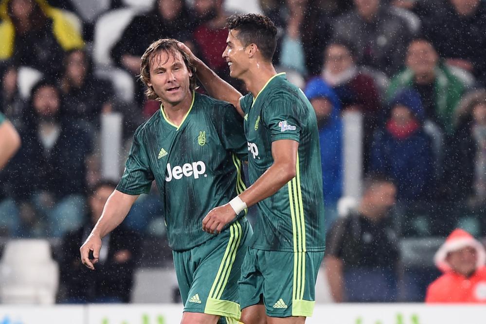 Nedved Ronaldo