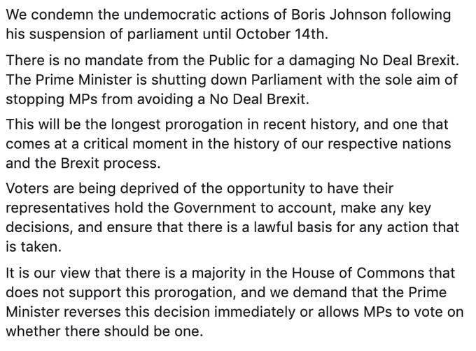 Corbyn statement