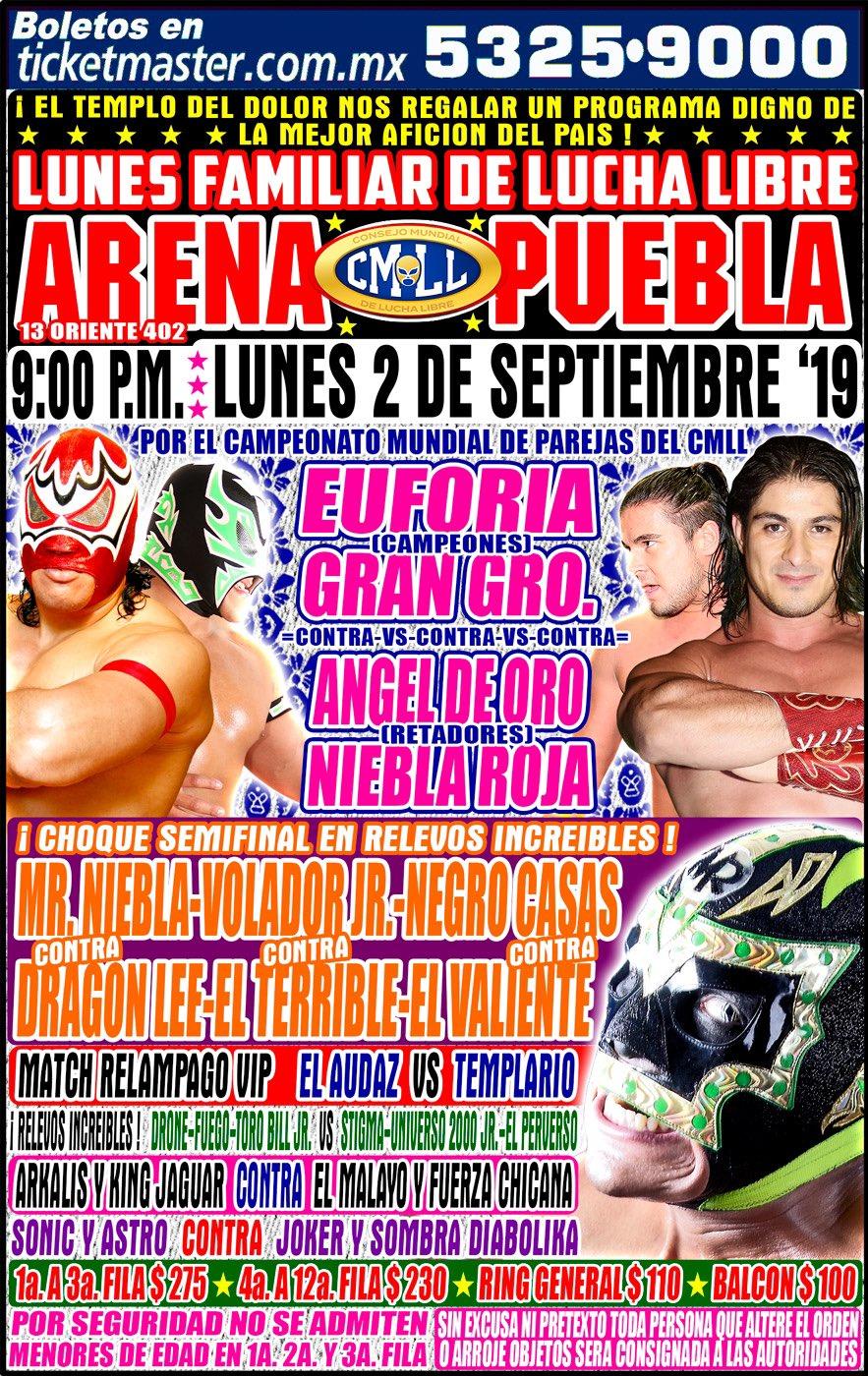 Una mirada semanal al CMLL (del 22 al 28 de agosto de 2019) 11