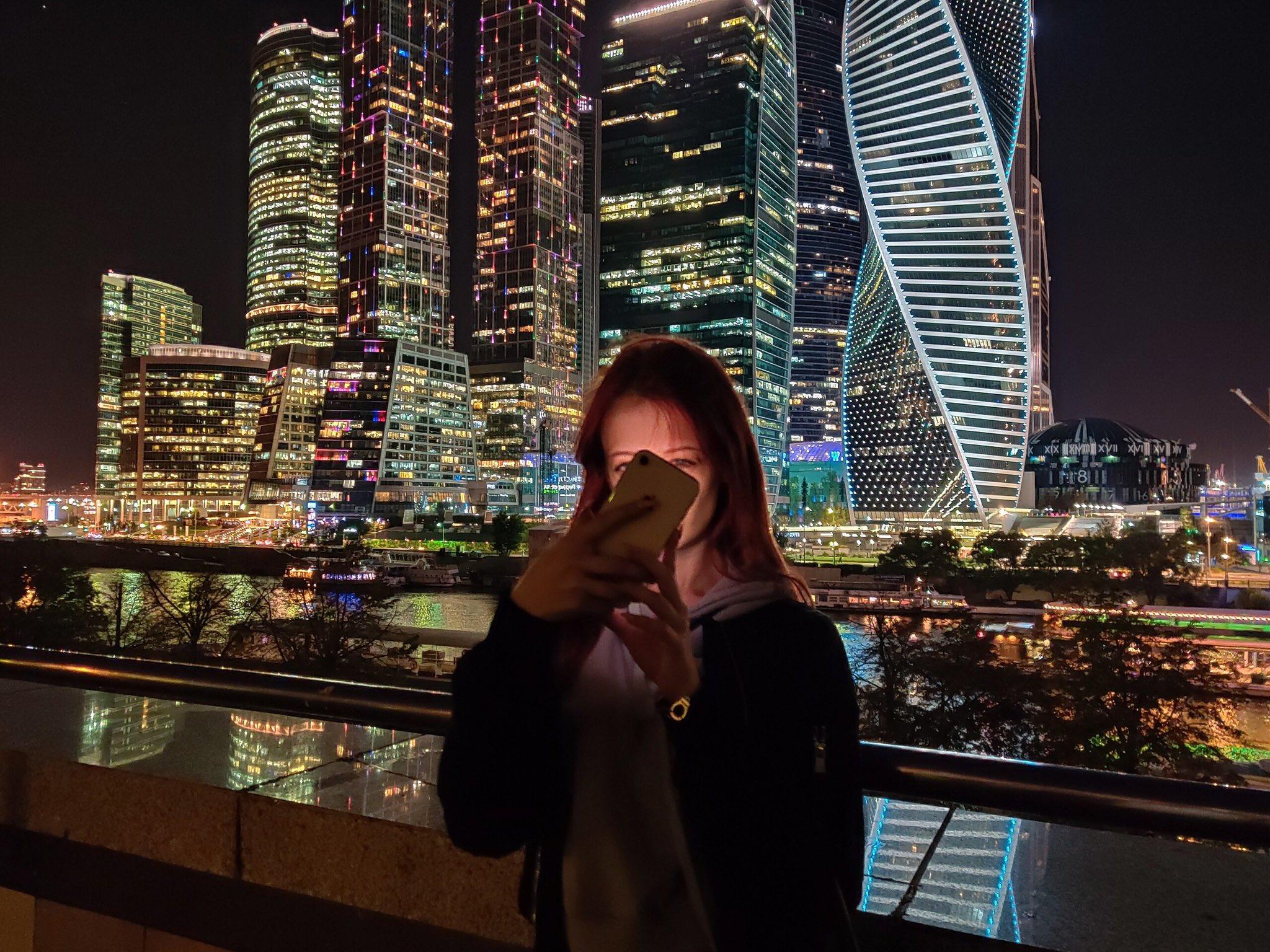 фото с москва сити ночью людей