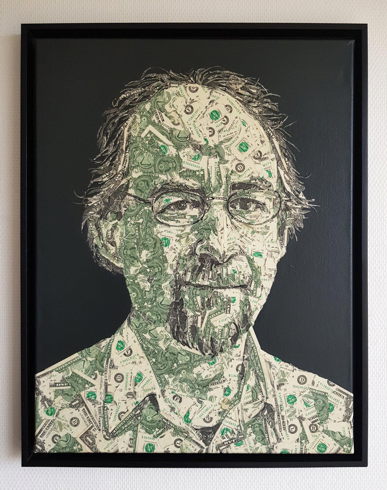 "Pascal Boyart on Twitter: ""Portrait of Adam Back, made of real ..."