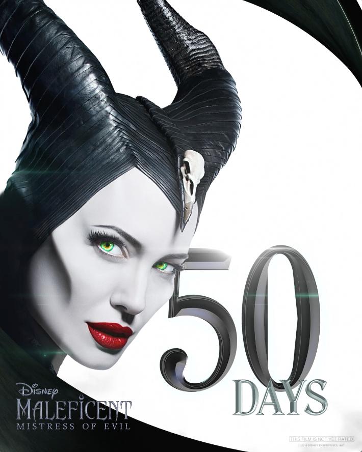 Disney On Twitter 50 Days Disney S Maleficent Mistress