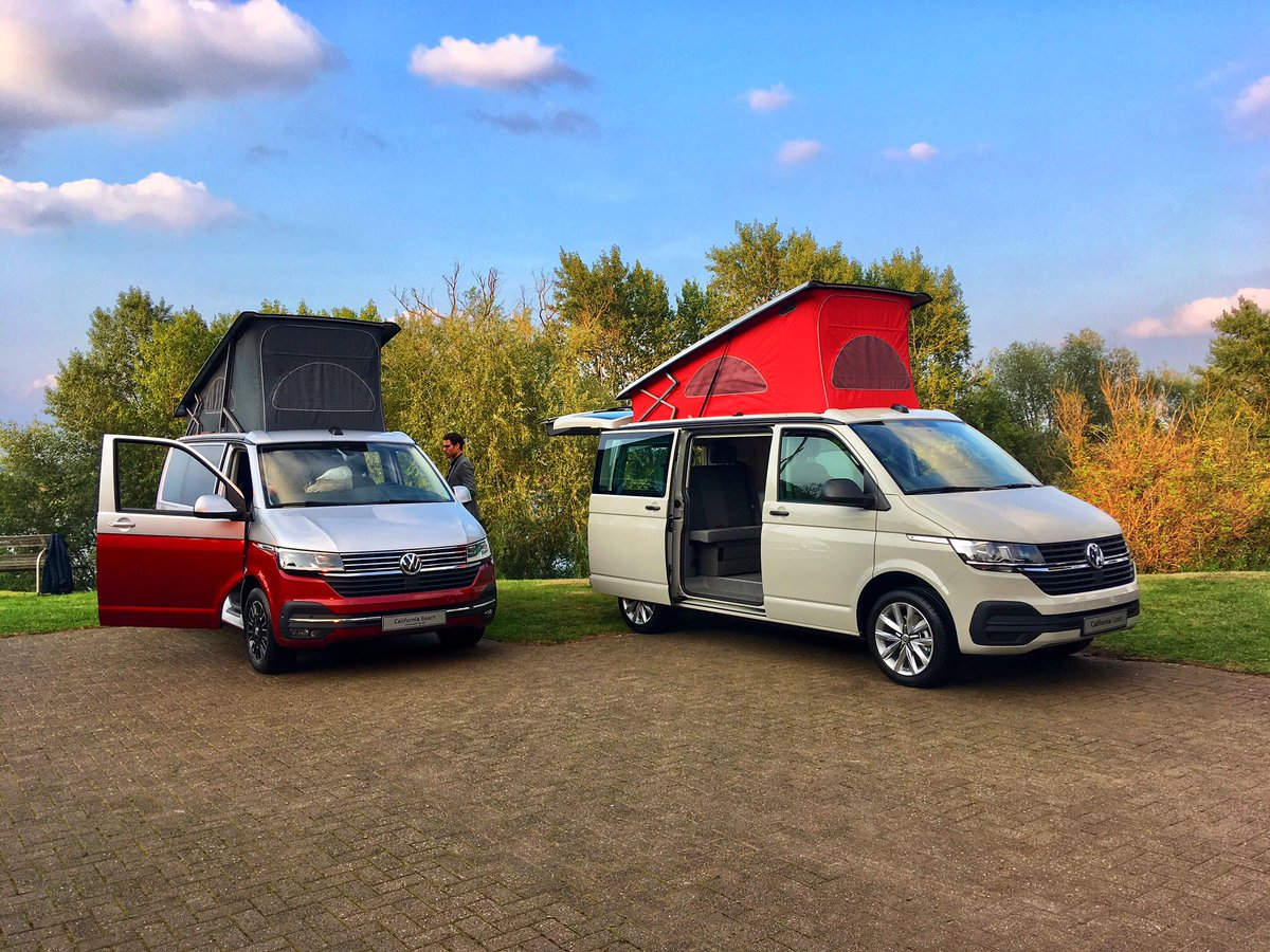 The redesigned front gives sharper character to the most successful camper van ever #VolkswagenCalifornia #6.1