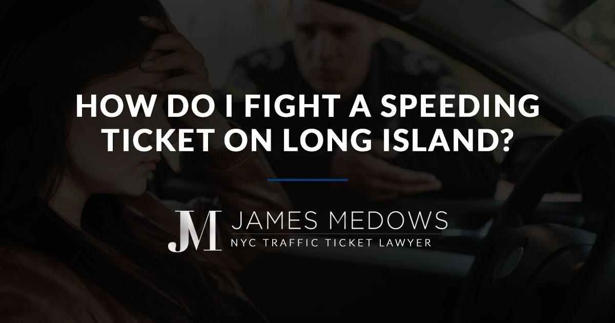 New York's Traffic Ticket Lawyer (@jamesmedows) | Twitter