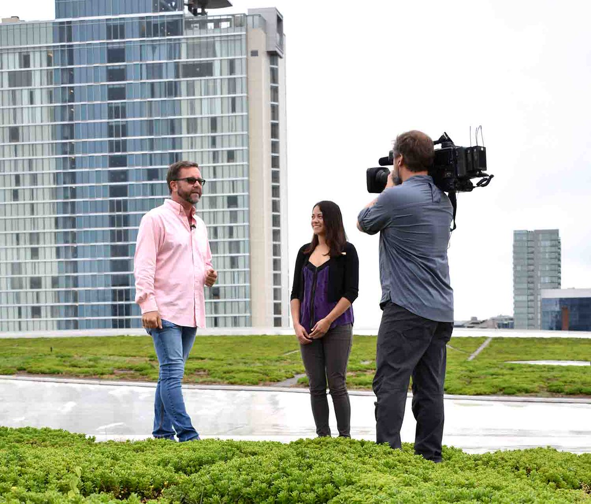 Catch tonight's episode of Volunteer Gardener on @npt8 featuring the MCC #greenroof! It will premier at 7:30pm, and will be broadcasted again this Sunday at 9:30am! #Sustainability