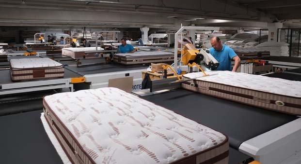 Yatak sektörü robot yatırımlarına odaklandı