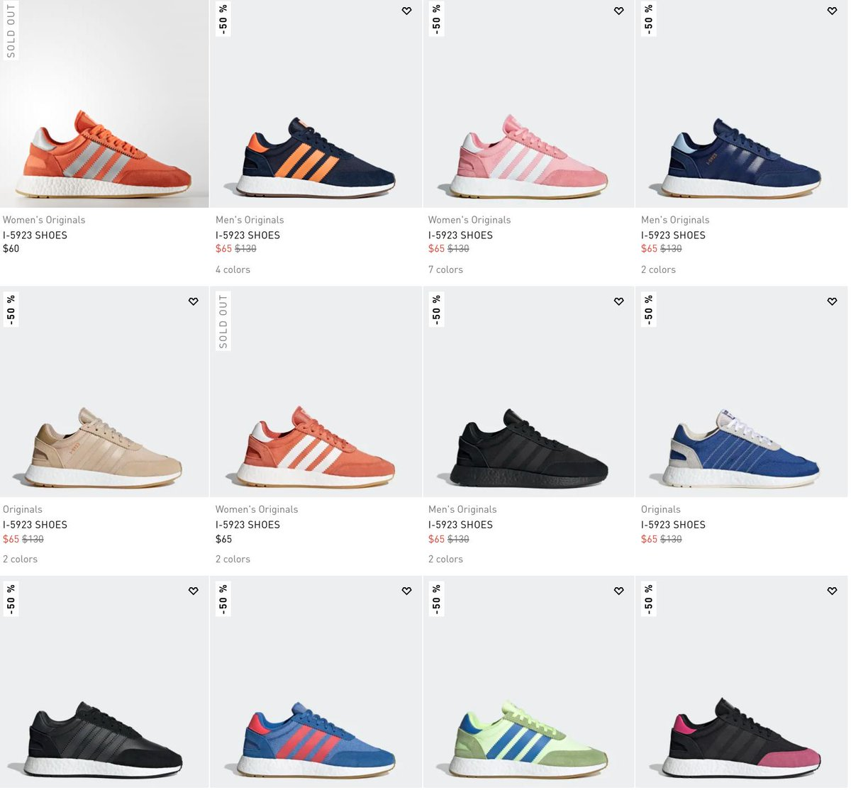 OFF RETAIL adidas I-5923 Boost Runner