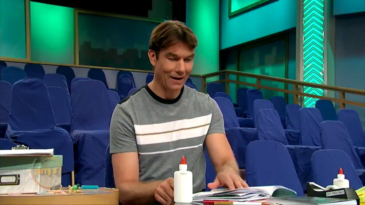 It's the last Jerry O' show and @MrJerryOC put together a memory book! #jerryoshow