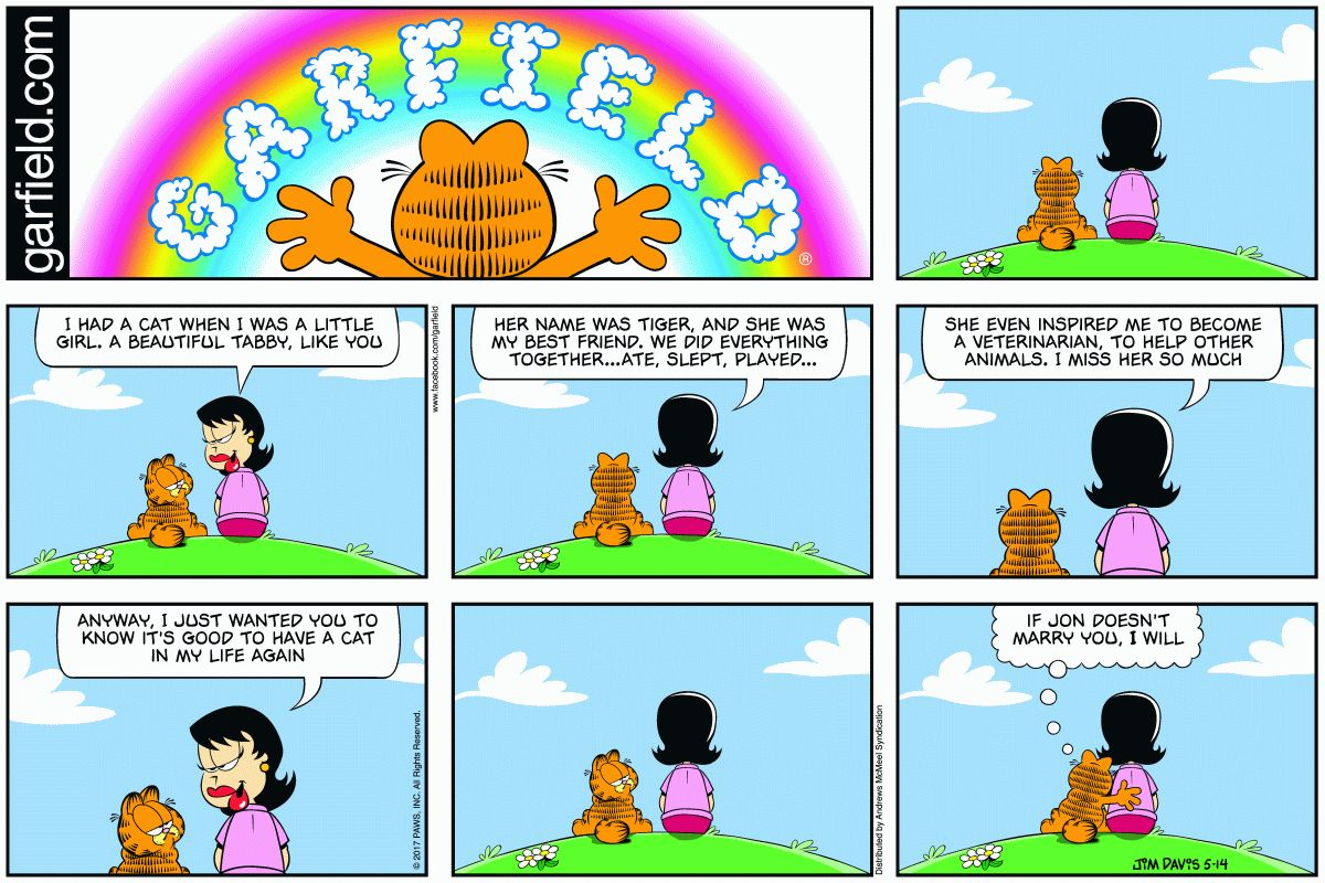 Random Garfield On Twitter Garfield 5 14 2017