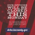 Image for the Tweet beginning: Our offices will be closed