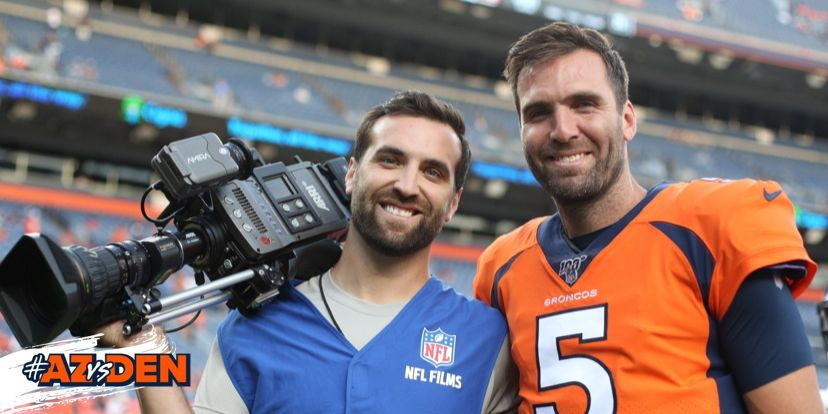 Replying to @Broncos: Faux Flacco + @JoeFlacco 😂😂😂