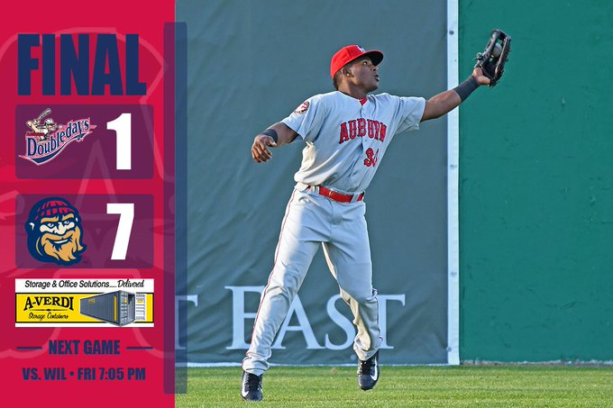 Doubledays Fall, 7-1, to Crosscutters