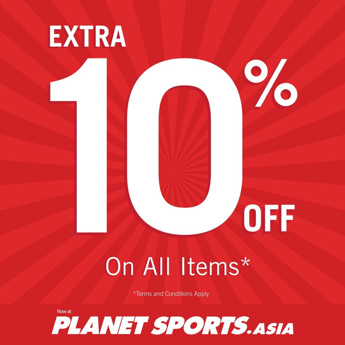 Senayan City On Twitter Get X Tra 10 Off Discount T C Apply Visit Planet Sports Senayan City 3rd Floor