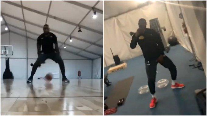 【影片】唱跳Rap籃球!詹姆斯社交媒體曬訓練影片
