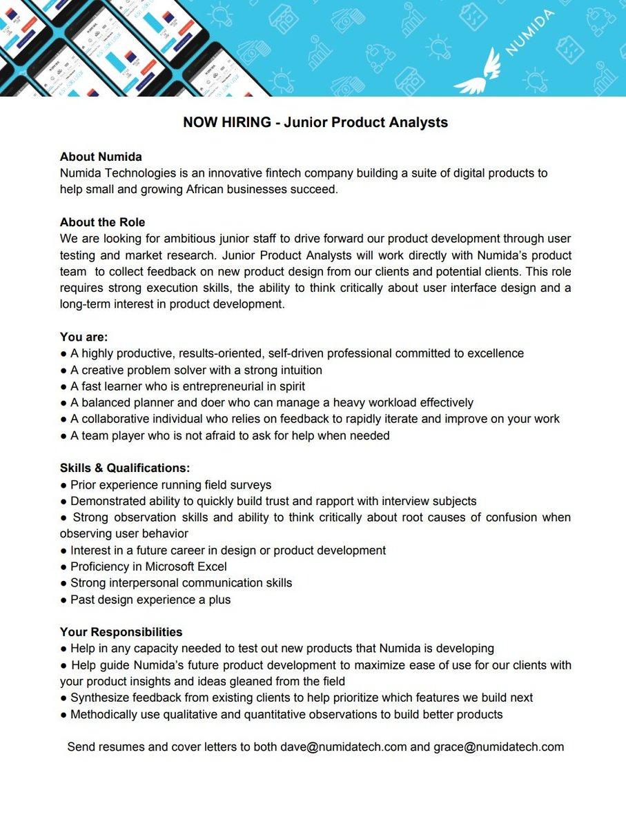 Etiqueta #jobopportunity en Twitter