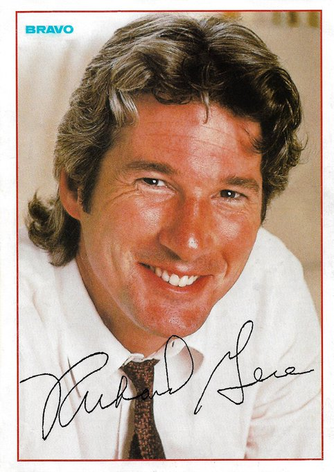 """August 31:Happy 70th birthday to actor,Richard Gere(\""""American Gigolo\"""")"""