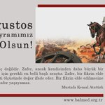Image for the Tweet beginning: 30 Ağustos Zafer Bayramımız kutlu