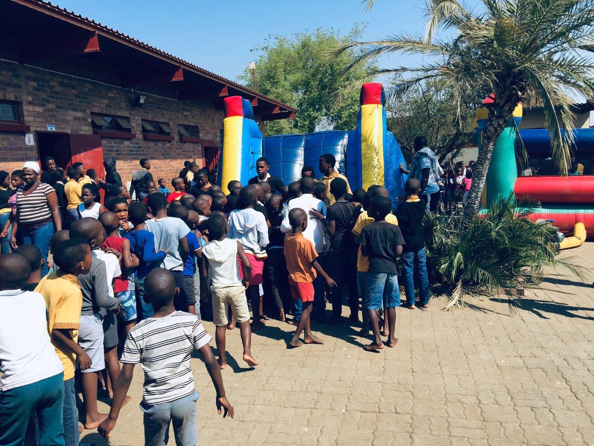 Fun Day For Underprivileged Local Primary Schools Initiative By Team Dinho Café 2019 .  Day One Of Many   #DinhoCafé26Dec #DC2019 <br>http://pic.twitter.com/X0wP3lQnSR