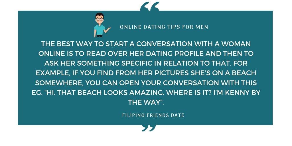 første gang Online Dating tips
