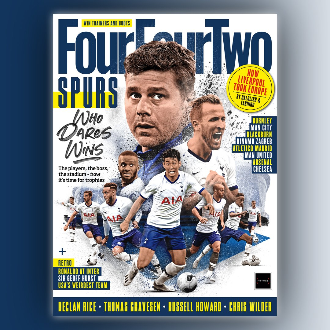 🔷Spurs have got the players, the boss, the stadium - now it's time for trophies.   New issue, out next Tuesday.  #FFTNewIssue  #THFC #COYS https://t.co/jXqRiaeNzH