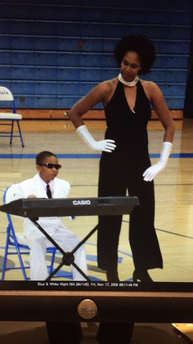 Happy birthday to the BEST Ray Charles impersonator ever!!!       . We love you son.