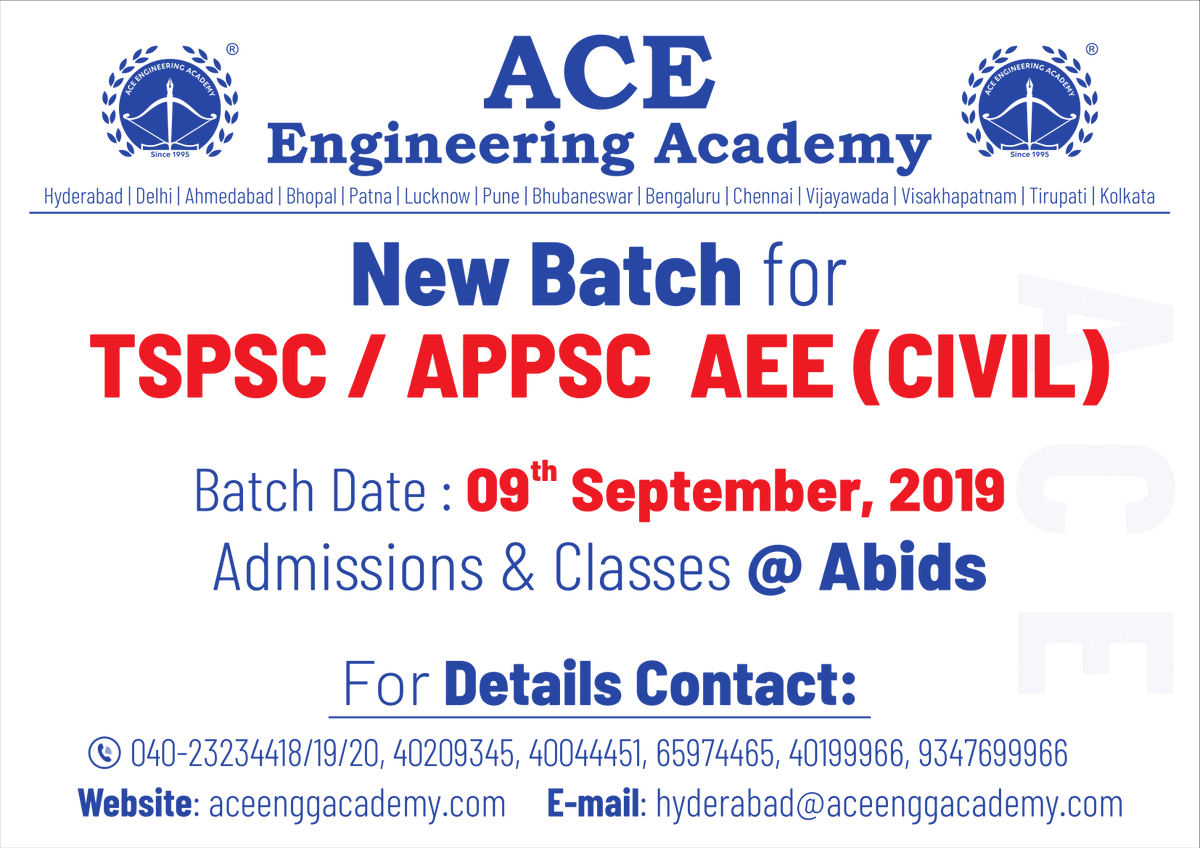 ACE Engineering Academy (@ACE_Enggacademy) | Twitter