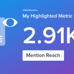 My week on Twitter 🎉: 7 Mentions, 2.91K Mention Reach, 3 Likes, 2 Retweets, 1.43K Retweet Reach. See yours with https://t.co/rF5y8MSrf4