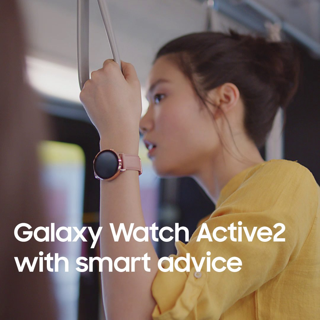 Track your running cadence in real-time with Galaxy Watch Active2 Under Armour Edition.Galaxy Watch Active2 Under Armour Edition with smart advice.Discover more: http://smsng.co/GalaxyWatchActive2_tw…#GalaxyWatchActive2