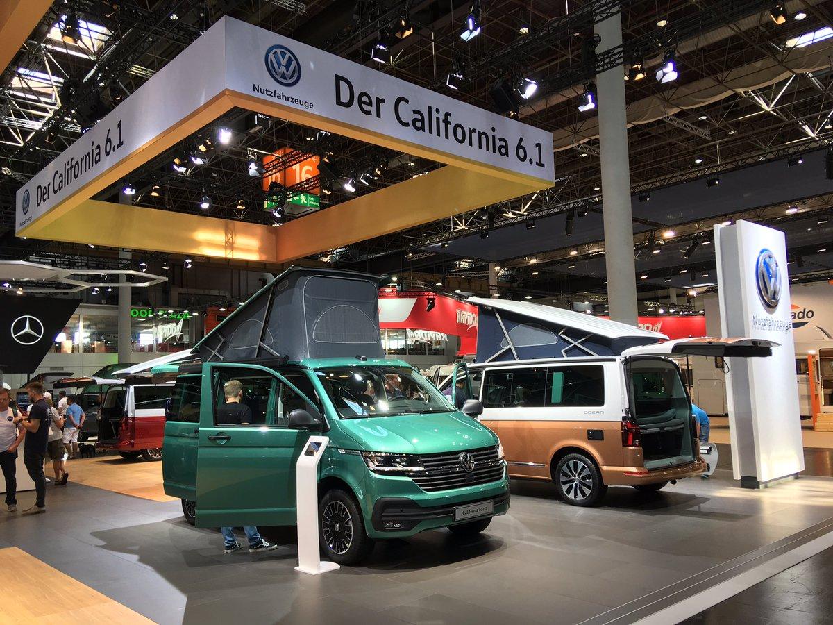 A few more shots from the massively popular @Volkswagen_CV stand at the #CaravanSalon in Düsseldorf  #CamperLife