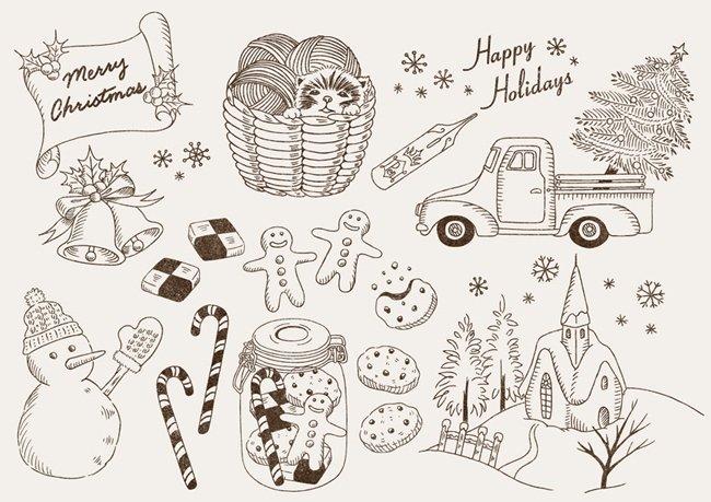 カン丸 カントリー クリスマスの無料イラストです イラストac というサイトで どなたでも無料でダウンロード出来ます T Co Mp7new1kn6 無料 無料配布 フリー素材 イラスト クリスマス クリスマスカード ペン軸 アンティーク