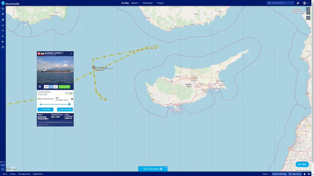 Commonsense & Wonder: Iranian oil tanker now bound for Lebanon